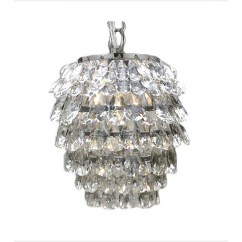Crystal 1 Light Pendant Chandelier Lighting