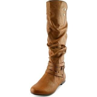Fergalicious Lyla Women Round Toe Synthetic Mid Calf Boot