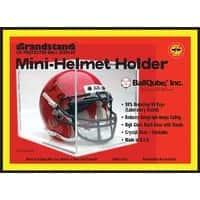 BallQube UV Protected Mini Football Helmet Display CaseHolder  Case of 8