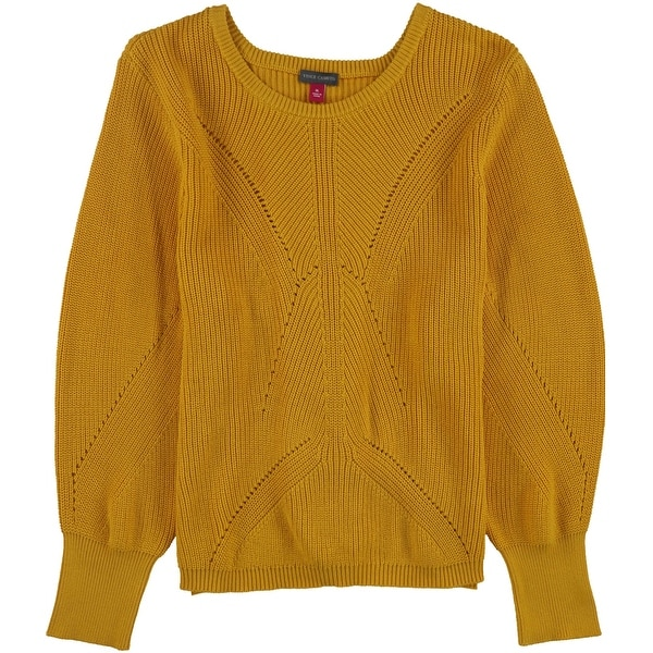 Vince Camuto Womens Laced Back Pullover Sweater. Opens flyout.