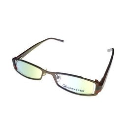 Converse Womens Opthalmic Rectangle Rimless Plastic Frame Minx Brown