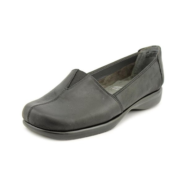 Aerosoles Fabrication Women Round Toe Leather Black Loafer