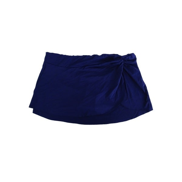 b59d6898b8 Shop Anne Cole Women's Solid Sarong Swim Skirt - Free Shipping On ...