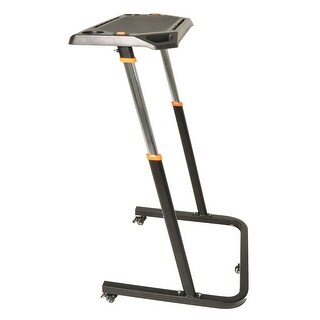 Conquer Adjustable Height Cycling Trainer Desk / Portable Standing Desk Workstation - Black