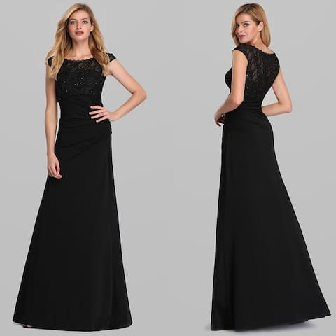 Ever-Pretty Womens Elegant Bodycon Formal Evening Dresses 07924