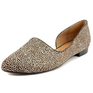 Nina Quip Women Pointed Toe Suede Flats