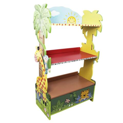 Fantasy Fields - Sunny Safari Bookshelf