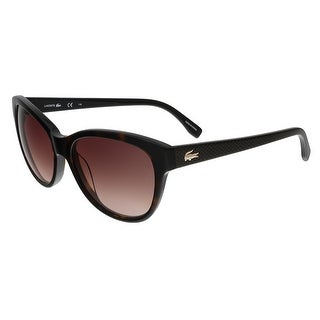 Lacoste L785/S 214 Havana Cat Eye sunglasses Sunglasses - 55-17-140