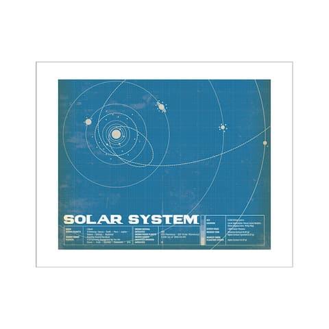 Cbsa61076 carta bella space academy art print 8x10 ssystem