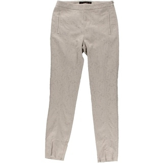 Zara Basic Womens Stretch Pattern Ankle Pants - XS