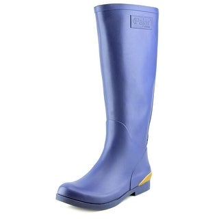 Pajar Liquid Boots Youth Round Toe Synthetic Blue Rain Boot
