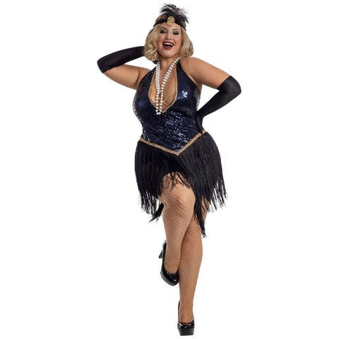 Plus Size All Jazzed Up Costume - As Shown