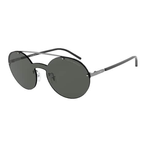 Emporio Armani EA2088 301087 34 Woman Irregular Sunglasses
