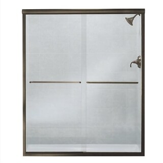 """Sterling 5475-59 Finesse 70-1/16"""" High x 59-5/8"""" Wide Sliding Frameless Shower Door with Clear, Frosted, or Pattern Glass"""