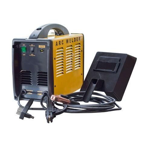 Offex Portable Automotive 70 Amp ARC 120V Welder - Yellow, Black - YELLOW