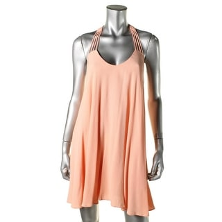 Lucy Paris Womens Crepe Strappy Party Dress