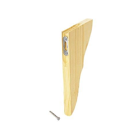 """Waddell 357 Pine Satin Corbel Shelf Bracket, 7"""" L x 1-1/4"""" W x 11"""" H"""