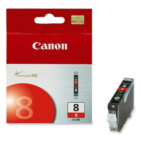 Canon - ink supplies 0626b002 cli-8 red ink tank