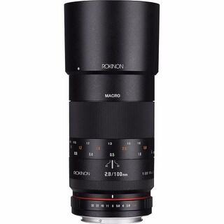 Rokinon 100mm f/2.8 Macro Lens for Sony