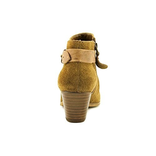 GUESS Womens Veora Leather Closed Toe Mid-Calf Fashion Boots