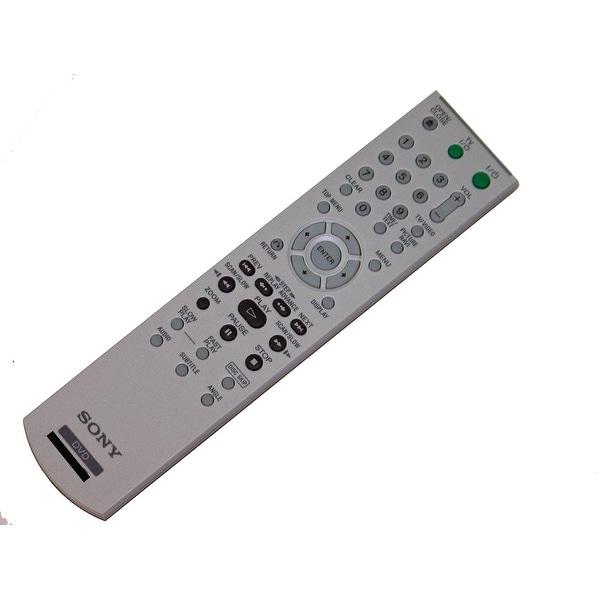 OEM Sony Remote Control: DVPNC85B, DVP-NC85B, DVPNC60P, DVP-NC60P, DVPNC85H/S, DVP-NC85H/S