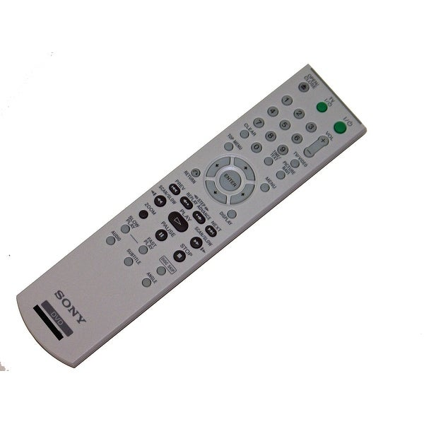OEM Sony Remote Control: HT7000DH, HT-7000DH, HT7000, HT-7000, DVPNC85H/B, DVP-NC85H/B