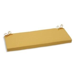 "45"" Yellow Gold Outdoor Patio Bench Cushion"