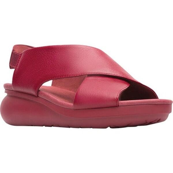 cf62e2effb5c1 Shop Camper Women's Balloon Slingback Sandal Medium Red Leather - On ...