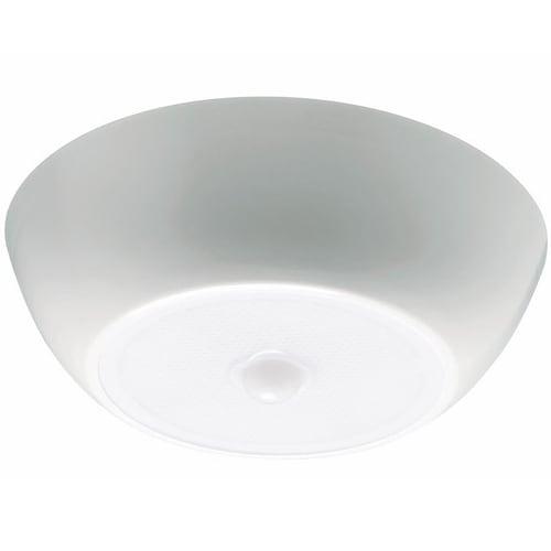 Mr. Beams MB990-WHT-01 Motion Sensing LED Ceiling Light, 300 Lumen
