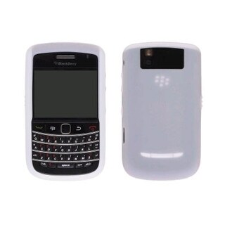 OEM Blackberry 9630 Tour, 9650 Bold, Silicone Skin Case, White