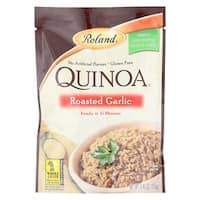 Roland Quinoa - Roasted Garlic - Case of 12 - 5.46 oz.
