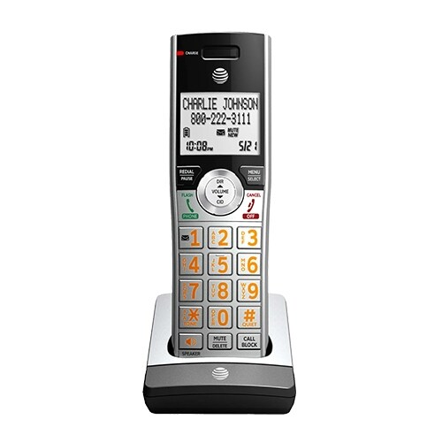 """ATT CL80107 Single Pack Accessory Handset for CL82207"""