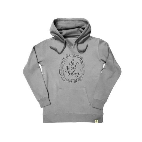 John Deere Western Sweatshirt Womens Hooded Do Good Today