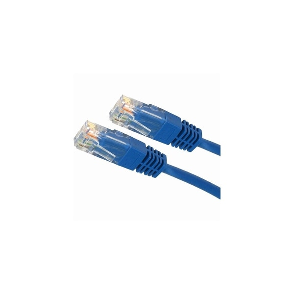 RED NETWORK PATCH CABLE STP C2G 50FT CAT5E MOLDED SHIELDED