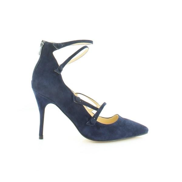 Ivanka Trump Dritz Women's Heels Dark Blue