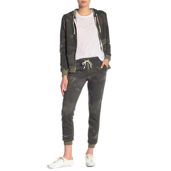 Alternative Green Women's Size Small S Drawstring Camo Print Pants