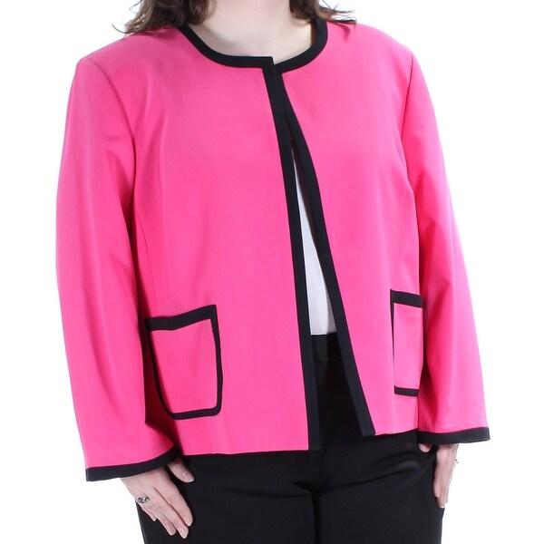Nine West 109 Womens New 1150 Pink Black Suit Wear To Work Jacket