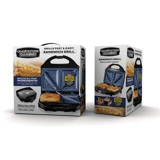Link to Granitestone Blue Non Stick Sandwich Maker Similar Items in Kitchen Appliances