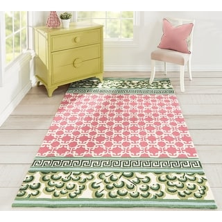 Link to Madcap Cottage by Momeni Under A Loggia Montserrat Indoor/Outdoor Rug Similar Items in Farmhouse Rugs