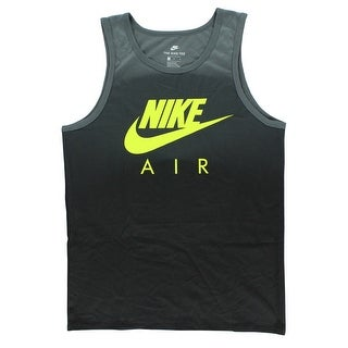 Nike Mens Air Max 95 Tank Top Grey - grey/volt