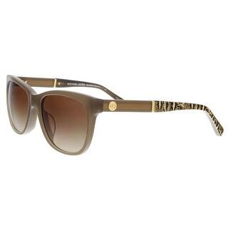 Michael Kors MK2022F 316713 RANIA II Clay Rectangle Sunglasses - 54-17-135