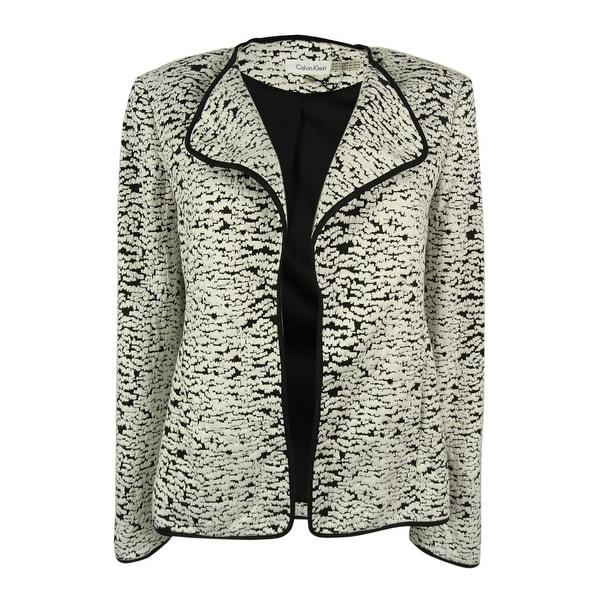 Calvin Klein Women's Open Front Jacket