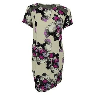 INC International Concepts Women's Floral Print Dress - glory lillies