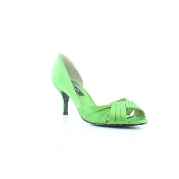 Nina Culver Women's Heels Green - 9.5