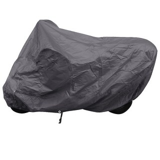 vidaXL Motorcycle Cover Gray Polyester