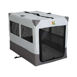 """Midwest Canine Camper Sportable Crate Gray 36"""" x 25.50"""" x 28"""""""