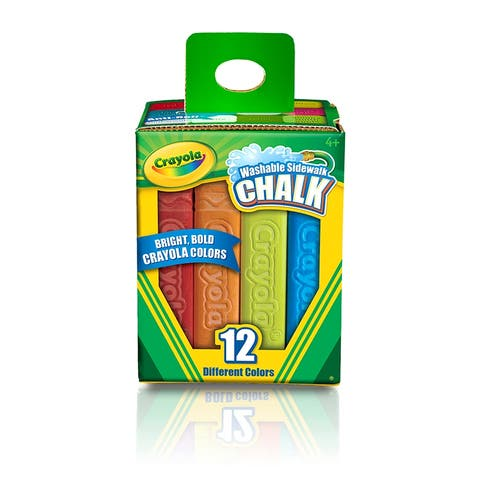 Crayola Washable Sidewalk Chalk 12