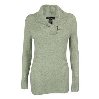 Style & Co. Women's Shawl Collar Sweater - l