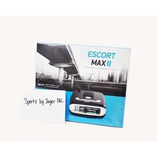 Escort Passport Max2 with HD Radar Performance Built In Bluetooth Radar Detector