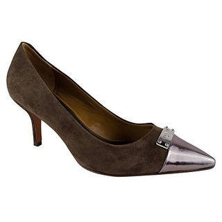 Coach Womens ZAN Suede Pointed Toe Classic Pumps